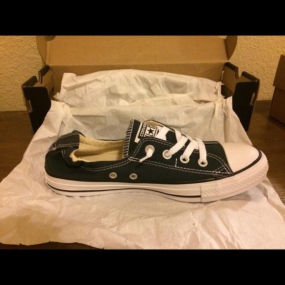 6602b21bf4f NAVY NWT Converse Shoreline Slip On Shoes